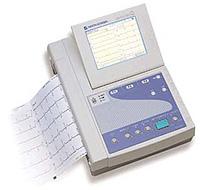 医療機器:心電図の写真
